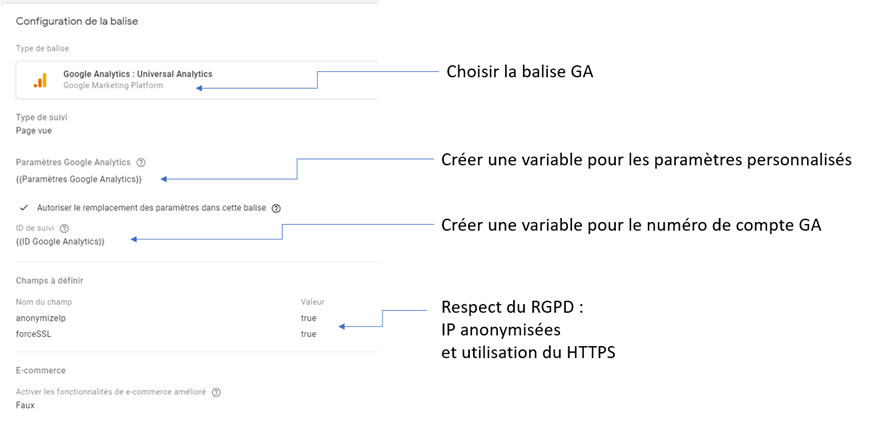 analytics sur google tag manager
